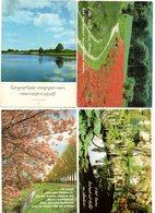 Bomen Landschap Landscape Paysage  Poezie Zegswijze 4 Stuks/pcs - Arbres
