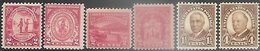 US  1929-30   Sc#680-5  MNH  2016 Scott Value $6.50 - Neufs