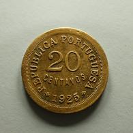 Portugal 20 Centavos 1925 Varnished - Portugal