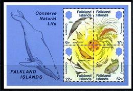 Falkland Islands 1984 Nature Conservation MS, MNH, SG 496 - Falkland