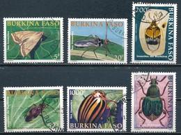 °°° BURKINA FASO - Y&T N°1276/78/81/83/84/85 - 2002 °°° - Burkina Faso (1984-...)