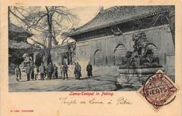 China - BEIJING - Lama Temple - Publ. E. Lee. - Chine