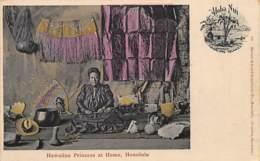 Hawaii - Hawaiian Princess At Home, Honolulu. - Honolulu