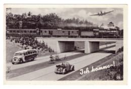 CARTE ALLEMANDE 1941 J'ARRIVE - Germany