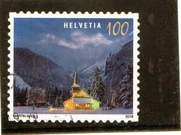 B - 2018 Svizzera -  Natale - Chiesa Di Kandersteg - Used Stamps