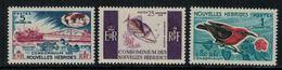 Nouvelles Hébrides // 1960-1980 // 1966 // Série Courante Timbres Neufs** MNH No. Y&T 239-241 - Neufs
