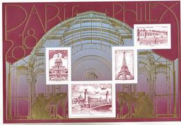 France 5222 5225 2018 Parisphilex 2018  F   Neuf TB ** MNH Sin Charnela - Nuovi