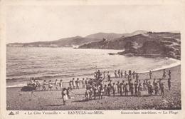 BANYULS SUR MER - PYRÉNÉES-ORIENTALES  -  (66) -  RARE CPA..ANIMÉE. - Banyuls Sur Mer