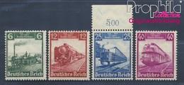 Deutsches Reich 580-583 (kompl.Ausg.) Postfrisch 1935 Deutsche Eisenbahnen (8291717 - Ungebraucht
