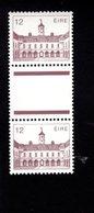 758958338 1982 SCOTT 545 POSTFRIS  MINT NEVER HINGED EINWANDFREI  (XX)  BOTANICAL GARDENS PAIR WITH LABEL BETWEEN STAMPS - 1949-... République D'Irlande