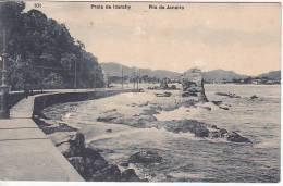 Brazil Rio De Janeiro Praia De Icarahy Cartao Postal ( Ribeiro ) Vintage Original Postcard Cpa Ak (W_935) - Rio De Janeiro