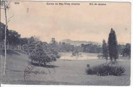 Brazil Rio De Janeiro Quinta De Boa Vista (trecho) Cartao Postal ( Ribeiro ) Vintage Original Postcard Cpa Ak (W_926) - Rio De Janeiro