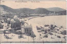 Brazil Rio De Janeiro Ensenada De Botafogo Cartao Postal ( Ribeiro ) Vintage Original Postcard Cpa Ak (W_923) - Rio De Janeiro