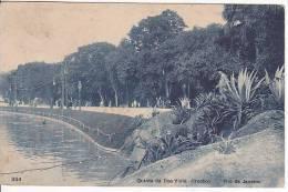 Brazil Rio De Janeiro Quinta Da Boa Vista (trecho) Cartao Postal ( Ribeiro ) Vintage Original Postcard Cpa Ak (W_922) - Rio De Janeiro