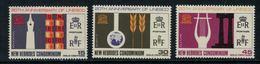 New Hebrides // 1960-1980 // 1966 // 20ème Anniversaire De L'UNESCO Timbres Neufs** MNH No. Y&T 252-254 - Légende Anglaise
