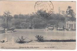 Brazil Rio De Janeiro Quinta De Bao Vista (trecho) Cartao Postal ( Ribeiro ) Vintage Original Postcard Cpa Ak (W_919) - Rio De Janeiro
