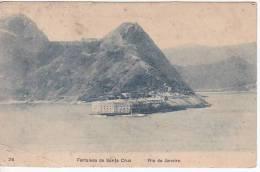 Brazil Rio De Janeiro Fortaleza De Santa Cruz Cartao Postal ( Ribeiro ) Vintage Original Postcard Cpa Ak (W_918) - Rio De Janeiro