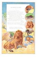 Conte Le Lion Et Le Rat - Publicité Le Pneu Bergougnan - Cuentos, Fabulas Y Leyendas