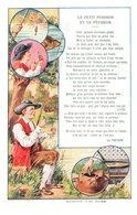 Conte Le Petit Poisson Et Le Pêcheur - Publicité Le Pneu Bergougnan - Cuentos, Fabulas Y Leyendas