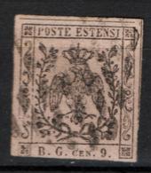 Modena 1853 Segnatasse Giornali Sass.SG2 Usato/Used VF/F - Modena
