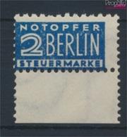 Bizone (Alliierte Besetzung) Z2BA Z Zwangszuschlag Postfrisch 1948 Notopfer Berlin (9309016 - American/British Zone