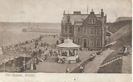Early Postcard, The Saloon, Whitby, Seaside, Pier, Building, People, 1904. - Whitby
