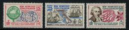 New Hebrides // 1960-1980 // 1968 // Bicentenaire Du Voyage Autour Du Monde Timbre Neuf** MNH No. Y&T 270-272 - Légende Anglaise