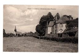L'Eglise Et Le Château D'AVERNES SOUS EXMES - Autres Communes