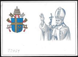 Vaticano/Vatican: Intero, Stationery, Entier, Papa Giovanni Paolo II, Pope John Paul II, Pape Jean-Paul II - Papi