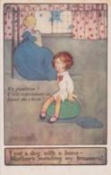 Bt - Cpa Illustrée Raphael Tuck (Oilette) - Agnes Richardson - I Met A Dog With A Bone - En Punition ? (n° 8787) - Tuck, Raphael