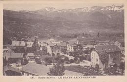 LE FAYET - SAINT GERVAIS - HAUTE-SAVOIE - (74) - PEU COURANTE CPA. - Saint-Gervais-les-Bains