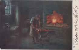 Bt - Cpa Illustrée Raphael Tuck (Un Pot à La Poste) - La Forge (n° 381) - Tuck, Raphael