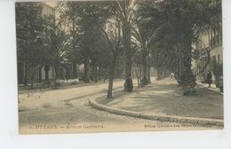 HYERES - Avenue Gambetta - Hyeres