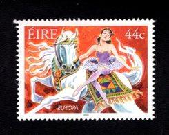758973806 2002 SCOTT 1405 POSTFRIS  MINT NEVER HINGED EINWANDFREI  (XX) EUROPA EQUESTRIAN ACT CIRCUS HORSE - 1949-... République D'Irlande