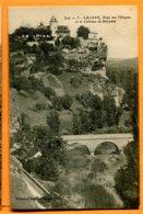 SPR174, Lacave, Pont Sur L'Ouysse, Château De Belcastel, 5, Circulée 1905 - Lacave