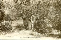 N°72449 -cpa Gaillon Artistique -paysage- - Otros Municipios