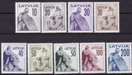 Lettland, 1992, 326/34, Freimarken: Monumente. MNH ** - Latvia