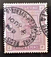 REINE VICTORIA 1883/84 - OBLITERE - YT 86 - MI 82x - 1840-1901 (Victoria)