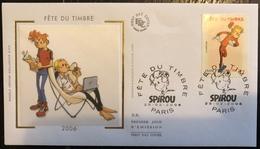 France FDC - Premier Jour - Lot De 1 FDC - Thématique Spirou - 2006 - FDC
