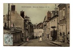 45 LOIRET - MONTARGIS Rue Du Château, Glacée Couleur - Montargis