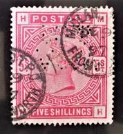 REINE VICTORIA 1883/84 - OBLITERE - YT 87 - MI 3ax - TIMBRE PERFORE - 1840-1901 (Victoria)