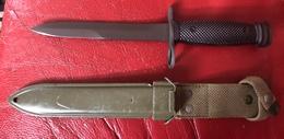 Baïonnette Italienne Pour Fusil Beretta BM59/AR 70 - Messen