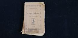 Livre Historique Guerre 1914 1918 Du 4è Régiment De Zouaves RZ  Mélizey Morlicourt Orvillers Tours Sur Marne Ambonnay .. - Livres