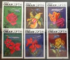 OMAN FLOWERS BY AIR MNH - Oman