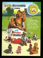 Kinder Sorprese - Locandina Pubblicitaria - Dog Stories - Istruzioni
