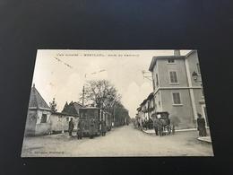 L'Ain Illustré - MONTLUEL Arret Du Tramway - 1915 - Montluel