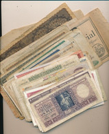 WORLD BANK NOTES SMALL SELECTION POOR QUALITY - Monete & Banconote