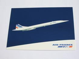 Magnifique  Carte Postale  AIR FRANCE  - AVION CONCORDE En Vol  **** EN ACHAT IMMÉDIAT **** - 1946-....: Modern Tijdperk