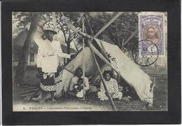 CPA Tahiti Océanie Polynésie Française Circulé Papeete - Tahiti