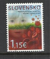SLOVAKIA 2015 - THE BONE MARROW TRANSPLANT UNIT OF THE UCHC - OBLITERE USED GESTEMPELT USADO - Slowakije